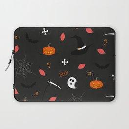 Halloween Pattern Laptop Sleeve
