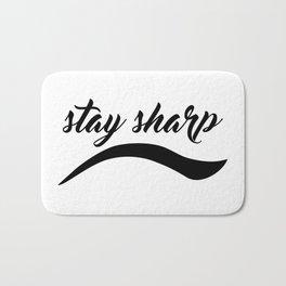 Stay Sharp Bath Mat
