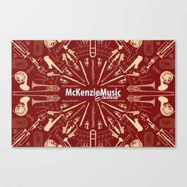 McKenzie Music Etcetera Canvas Print