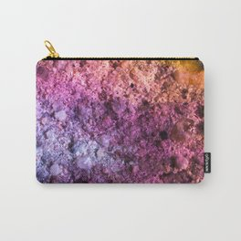 Space Rock In Colorful Rainbow Colors Carry-All Pouch