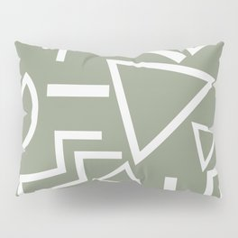 Shapes- lost and found Pillow Sham
