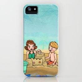Sand Castle Cove iPhone Case