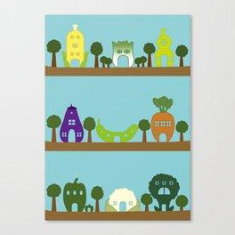 Vege House Canvas Print