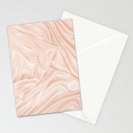 PALE DOGWOOD SILK TEXTURE Stationery Cards