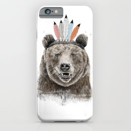 Festival bear iPhone Case