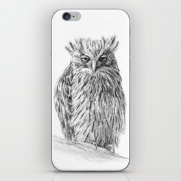 The Buffy Fish Owl iPhone Skin