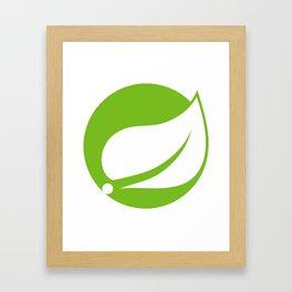 Spring Java Framework Framed Art Print
