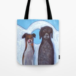 Dogs in Greece Tote Bag
