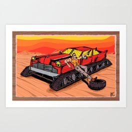 All Terrain: Desert Art Print