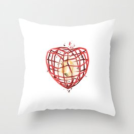 Take Care of My Heart, Valentine Throw Pillow