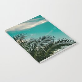 Palms on Turquoise - II Notebook