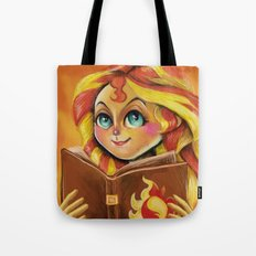 Sunset Shimmer :: Dear Princess Twilight Tote Bag
