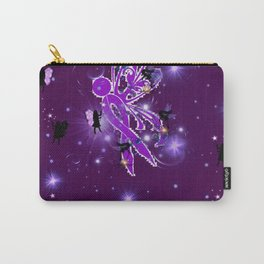 Power Purple For a Cure - Fairy Dust Carry-All Pouch