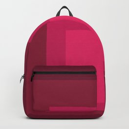 Block Colors - Cherry Red Backpack