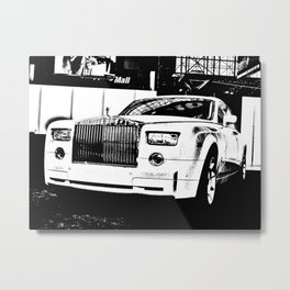 Tough and Proud Metal Print