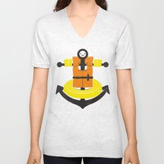 I Refuse To Sink Unisex V-Neck