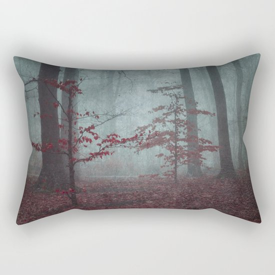 here comes the feaR Rectangular Pillow