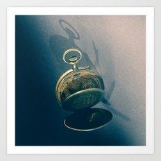Clock 2 Art Print