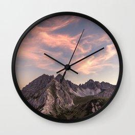 Alpine Journey Wall Clock