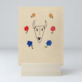 Skull Friend Mini Art Print