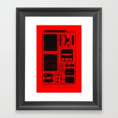 Super Home Video Computer Framed Art Print