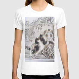 12,000pixel-500dpi - Kawanabe Kyosai - Rabbits - Digital Remastered Edition T-shirt