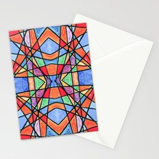 mexican stained glass Stationery Cards