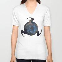 homestuck V-neck T-shirts featuring Mind by Darkerin Drachen