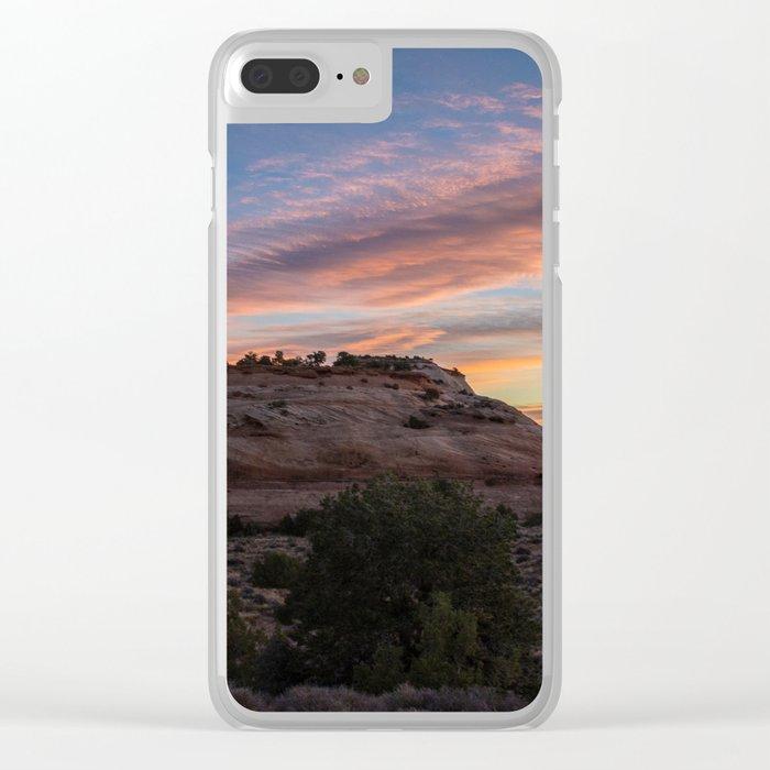 Canyonlands Sunrise Clear iPhone Case