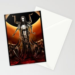 Black Sun Rising Stationery Cards