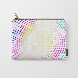 Triangle Pattern Carry-All Pouch