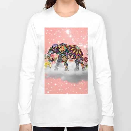 MANDALA ELEPHANT Long Sleeve T-shirt