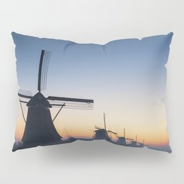 Windmills at Sunrise IV Pillow Sham