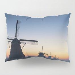 Windmills at Sunrise IV Pillow Sham