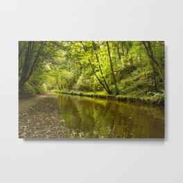 Llangollen Canal, Chirk Metal Print