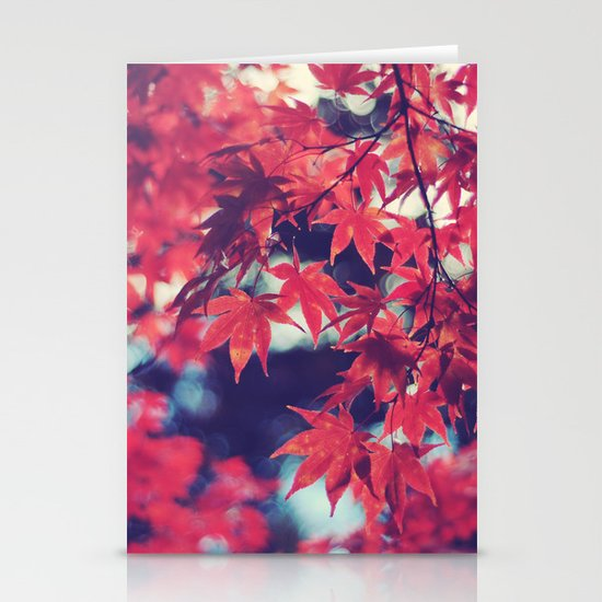 Still autumn in my heart Stationery Cards