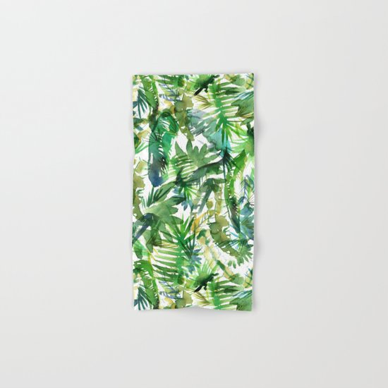 VIBE of the Jungle  {A-green} Hand & Bath Towel