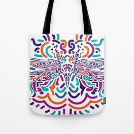 Colorful Fly Tote Bag