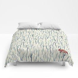 Winter Wood Comforters