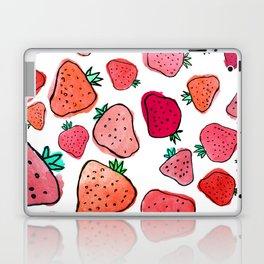 Strawberry Pattern Laptop & iPad Skin