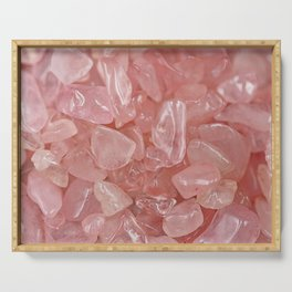 Rose Quartz Serving Tray