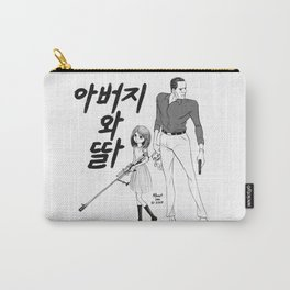 Father and Daughter Carry-All Pouch