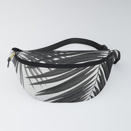 Palm Leaf Black & White II Fanny Pack