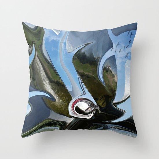 chromium 24 Throw Pillow