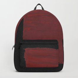 Sideways Red Square Backpack