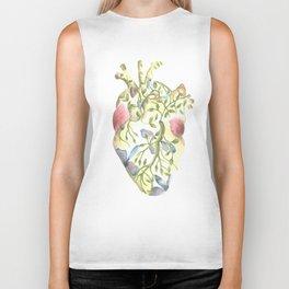 heart 1 Biker Tank