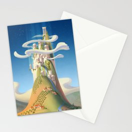 Mythical Places - Mount Olympus Stationery Cards