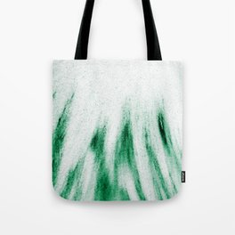 Sandy Green Feathers Tote Bag