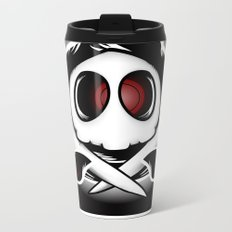 Duskull & Crossbones Metal Travel Mug