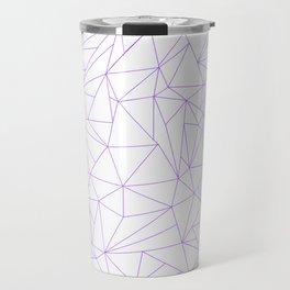 geometric circle Travel Mug